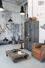 Wonderful Industrial Rustic Living Room Decoration Ideas You Have Must See12