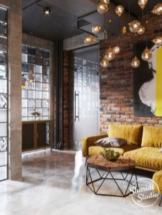 Wonderful Industrial Rustic Living Room Decoration Ideas You Have Must See31