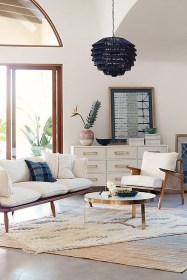 Wonderful Living Room Rug Layering Combination For Sweet Home05