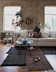 Wonderful Living Room Rug Layering Combination For Sweet Home22