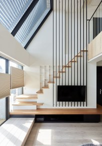 Wonderful Staircase Design Ideas That Inspires Living Room Ideas05