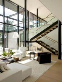 Wonderful Staircase Design Ideas That Inspires Living Room Ideas22