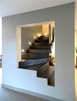 Wonderful Staircase Design Ideas That Inspires Living Room Ideas33