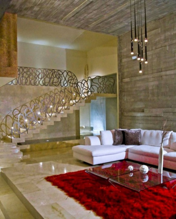 Wonderful Staircase Design Ideas That Inspires Living Room Ideas37