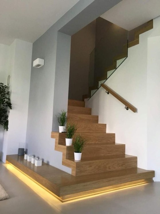 Wonderful Staircase Design Ideas That Inspires Living Room Ideas40
