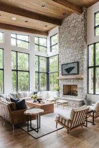 Attractive Lake House Living Room Decor Ideas11