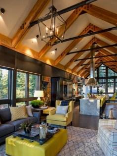 Attractive Lake House Living Room Decor Ideas12