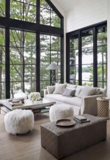 Attractive Lake House Living Room Decor Ideas30