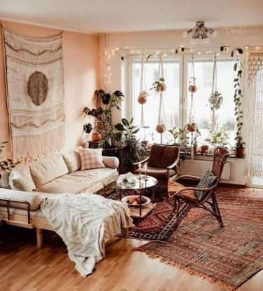 Awesome Bohemian Living Room Decor Ideas17