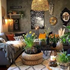 Awesome Bohemian Living Room Decor Ideas21