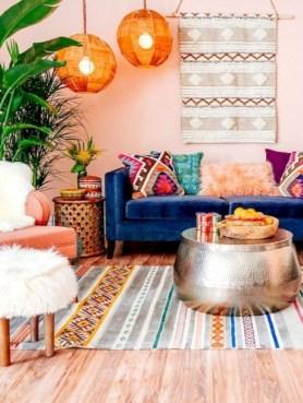 Awesome Bohemian Living Room Decor Ideas33
