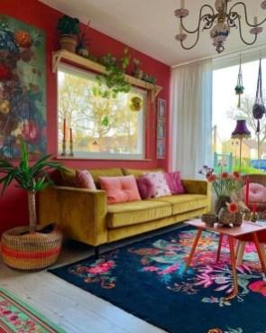 Awesome Bohemian Living Room Decor Ideas35