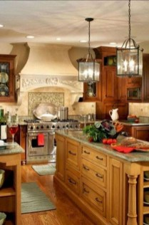 Cool French Country Kitchen Decorating Ideas01
