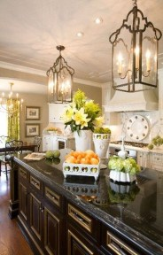 Cool French Country Kitchen Decorating Ideas28