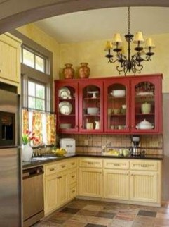 Cool French Country Kitchen Decorating Ideas41