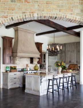Cool French Country Kitchen Decorating Ideas43