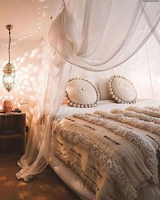 Cozy Diy Bohemian Bedroom Decor Ideas04