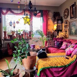 Cozy Diy Bohemian Bedroom Decor Ideas10