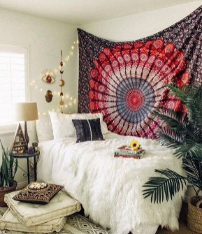 Cozy Diy Bohemian Bedroom Decor Ideas17