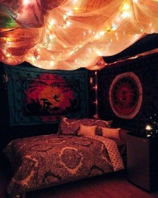 Cozy Diy Bohemian Bedroom Decor Ideas18