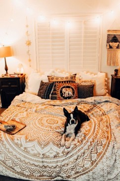 Cozy Diy Bohemian Bedroom Decor Ideas24