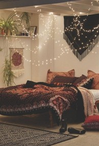 Cozy Diy Bohemian Bedroom Decor Ideas30