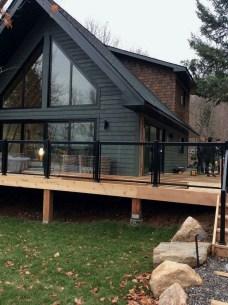 Creative Lake House Exterior Designs Ideas39