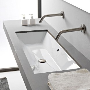 Elegant Bathroom Sink Decorating Ideas For Bathroom17