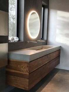 Elegant Bathroom Sink Decorating Ideas For Bathroom19