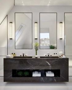 Elegant Bathroom Sink Decorating Ideas For Bathroom23