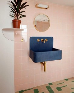 Elegant Bathroom Sink Decorating Ideas For Bathroom38