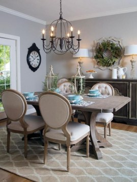 Elegant Small Dining Room Decorating Ideas07