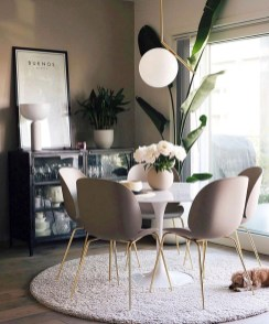 Elegant Small Dining Room Decorating Ideas11