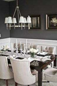 Elegant Small Dining Room Decorating Ideas22