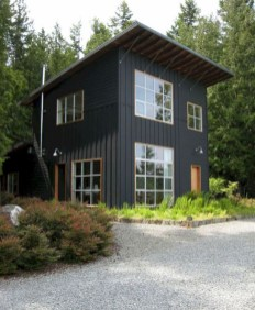 Incredible Homes Decorating Ideas With Black Exteriors29