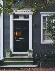 Incredible Homes Decorating Ideas With Black Exteriors37