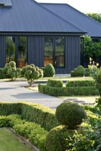 Incredible Homes Decorating Ideas With Black Exteriors39