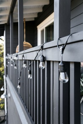 Incredible Homes Decorating Ideas With Black Exteriors43