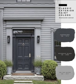 Incredible Homes Decorating Ideas With Black Exteriors48