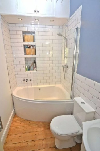 Minimalist Bathroom Bathtub Remodel Ideas47
