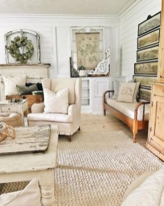 Perfect French Country Living Room Design Ideas01