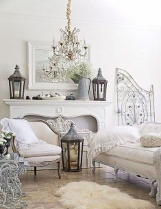 Perfect French Country Living Room Design Ideas30