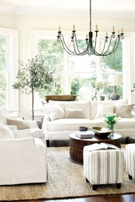 Perfect French Country Living Room Design Ideas36