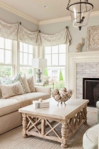 Perfect French Country Living Room Design Ideas43