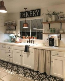 Pretty Farmhouse Kitchen Makeover Design Ideas On A Budget02