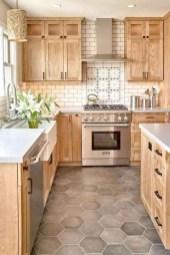 Pretty Farmhouse Kitchen Makeover Design Ideas On A Budget13
