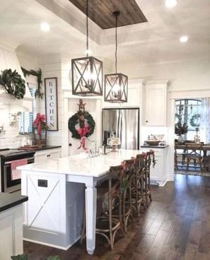 Pretty Farmhouse Kitchen Makeover Design Ideas On A Budget23