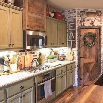 Pretty Farmhouse Kitchen Makeover Design Ideas On A Budget26
