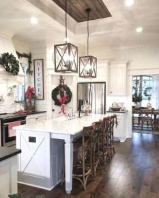 Pretty Farmhouse Kitchen Makeover Design Ideas On A Budget27