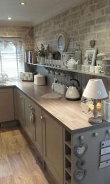 Pretty Farmhouse Kitchen Makeover Design Ideas On A Budget34